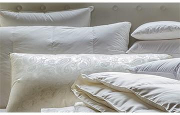 Подушки, Одеяла, Покрывала, Постель