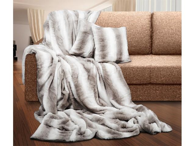 Комплект  AMI Gray (плед+чехлы на подушки) по цене