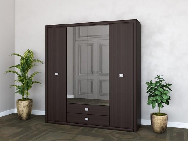 Шкаф «Кельн» 4Д/2Ш по цене