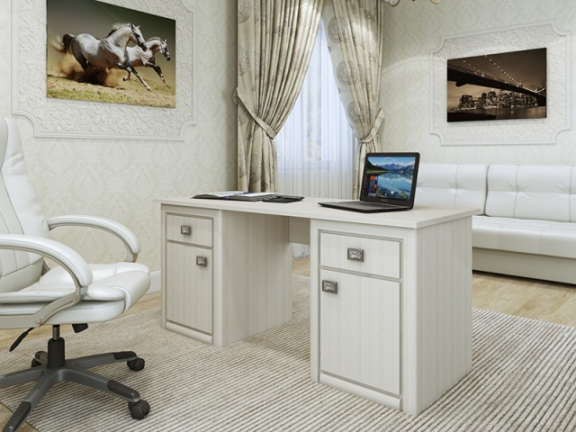 Стол письменный «Кельн» 2Д/2Ш  по цене