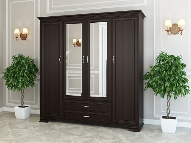 Шкаф «Стефани Голд» 4Д/2Ш по цене